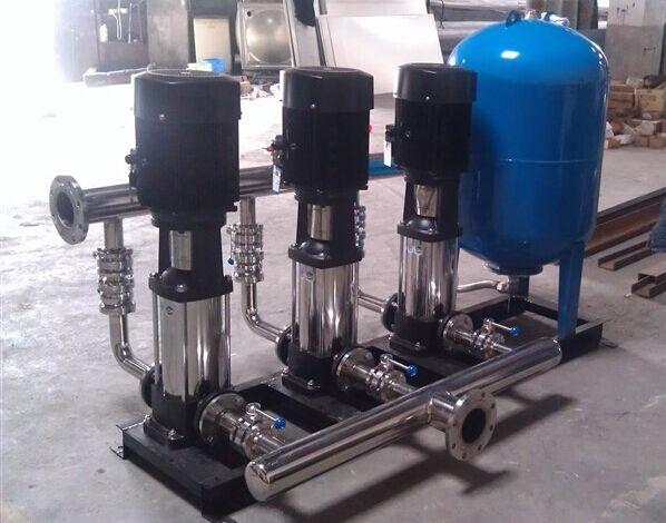恒压变频供水设备三用一备的控制流程