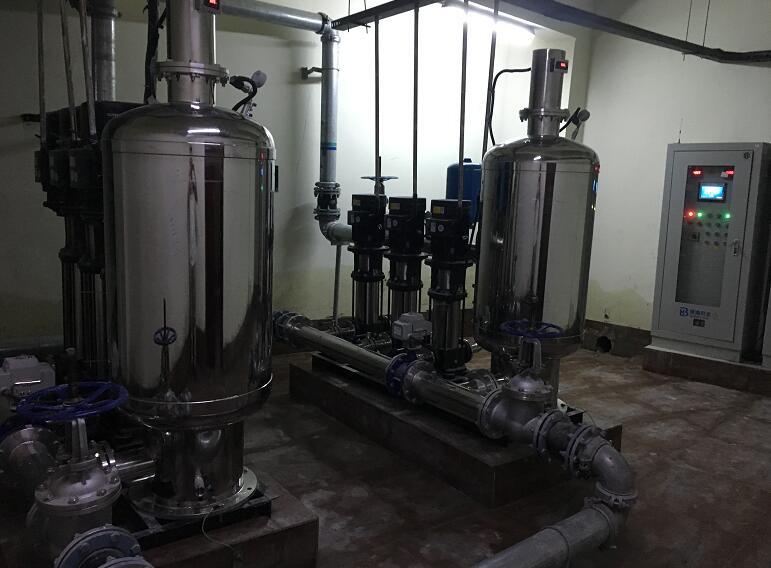 全自动供水设备是什么?二次供水怎么加压的?