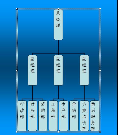 公司组织结构图如下
